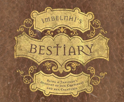 Book: Imbelnhi's Bestiary